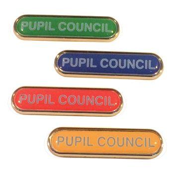 PUPIL COUNCIL badge
